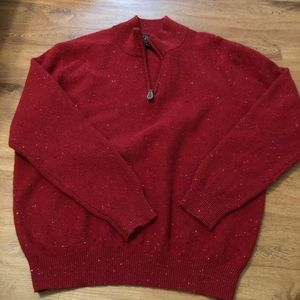 Jos A Bank lambs wool sweater